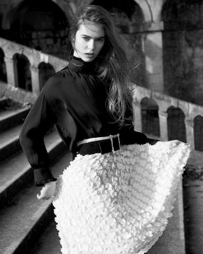 Fashion Photographer London - Elegant Magazine editorial by photographer John Sansom
